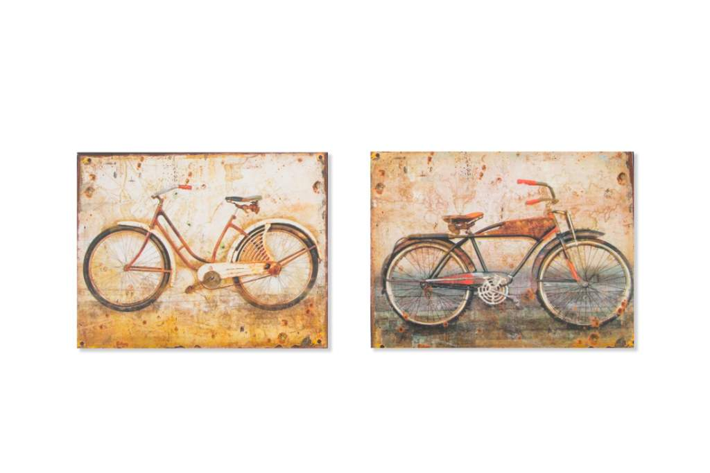 "Obraz ""BICYCLE"" 25x20/2dr."