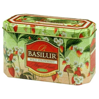 Basilur Wild Strawberry Zelený čaj